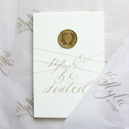 AYLA View: Wedding Stationery with a Luxury Twist